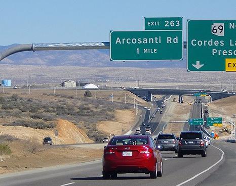 Arcosanti road