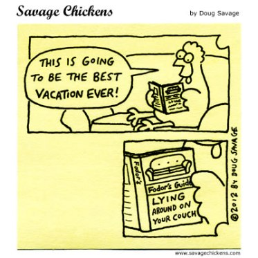 chicken vacation