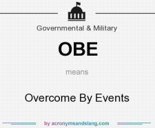 OBE meaning - what does OBE stand for?