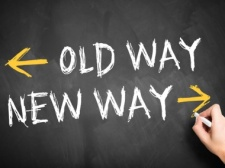 old new way