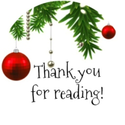 christmas thanks for reading