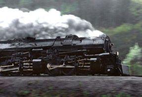 train in rain